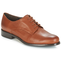 Schoenen Dames Derby André LOUKOUM Brown