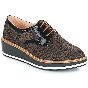 Schoenen Dames Derby André CHICAGO Brown