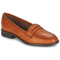 Schoenen Dames Mocassins André TILDE Brown