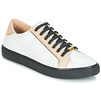Schoenen Dames Lage sneakers André BERKELITA Wit