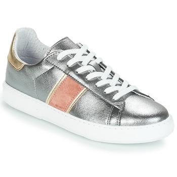 Schoenen Dames Lage sneakers André FRISBEE Zilver