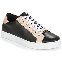Schoenen Dames Lage sneakers André BERKELITA Zwart / Beige