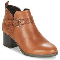 Schoenen Dames Laarzen André PATTY 3 Brown