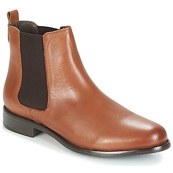 Schoenen Dames Laarzen André CARAMEL Brown