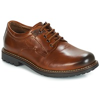 Schoenen Heren Derby André BOULON Brown