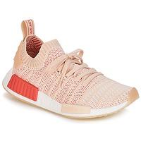 Schoenen Dames Lage sneakers adidas Originals NMD R1 STLT PK W Wit