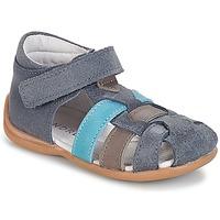 Schoenen Jongens Sandalen / Open schoenen André LES PRALINES Blauw