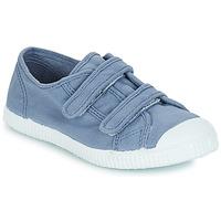 Schoenen Kinderen Lage sneakers André LITTLE SAND Blauw