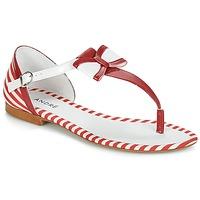 Schoenen Dames Sandalen / Open schoenen André DORINE Rood