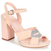 Schoenen Dames Sandalen / Open schoenen André KISS KISS Nude