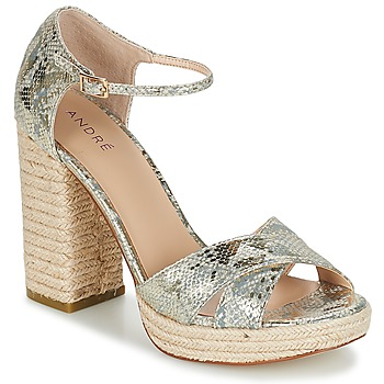 Schoenen Dames Sandalen / Open schoenen André TAPAGEUSE Beige