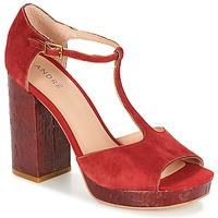 Schoenen Dames Sandalen / Open schoenen André TORRIDE Rood