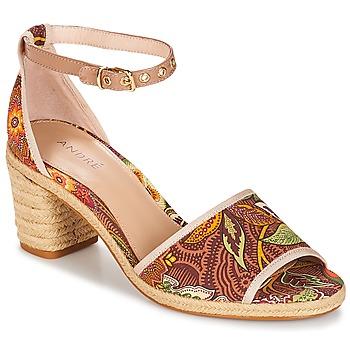 Schoenen Dames Sandalen / Open schoenen André JAKARTA Multicoloured