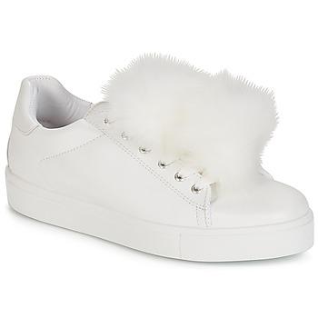 Schoenen Dames Lage sneakers André POMPON Wit