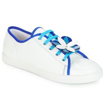 Schoenen Dames Lage sneakers André GUIMAUVE Wit