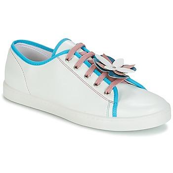 Schoenen Dames Lage sneakers André GUIMAUVE Groen