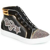 Schoenen Dames Hoge sneakers André LOTUS Zwart