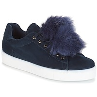 Schoenen Dames Lage sneakers André POMPON Blauw