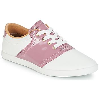 Schoenen Dames Lage sneakers André LIZZIE Roze