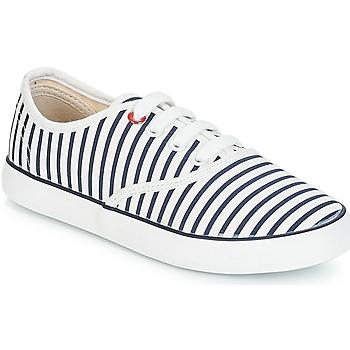 Schoenen Meisjes Lage sneakers André MARINETTE Wit