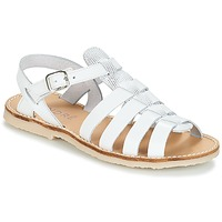 Schoenen Meisjes Sandalen / Open schoenen André CANDIE Wit