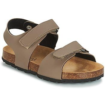 Schoenen Meisjes Sandalen / Open schoenen André LES CRABES Taupe
