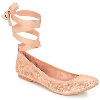Schoenen Dames Ballerina's André ACTEE Roze