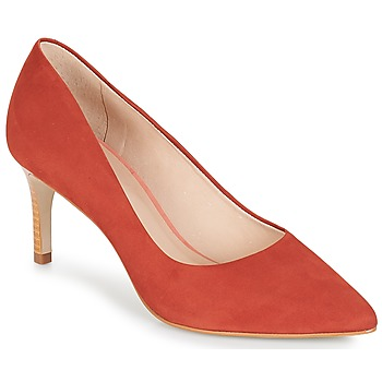 Schoenen Dames pumps André SCARLET Orange