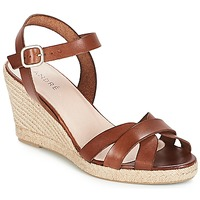 Schoenen Dames Sandalen / Open schoenen André QUIBERON Brown