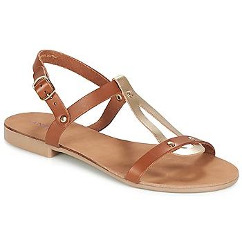 Schoenen Dames Sandalen / Open schoenen André TOUFOU  camel