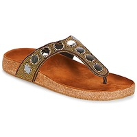 Schoenen Dames Slippers André PANDORE Brown