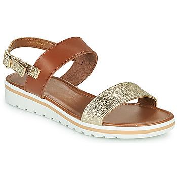 Schoenen Dames Sandalen / Open schoenen André ZANDORA Goud