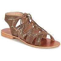 Schoenen Dames Sandalen / Open schoenen André MAUPITI Brown