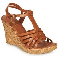 Schoenen Dames Sandalen / Open schoenen André FABULEUSE  camel