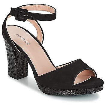 Schoenen Dames Sandalen / Open schoenen André FESTIVE Zwart