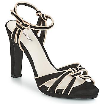 Schoenen Dames Sandalen / Open schoenen André ARPEGE Zwart