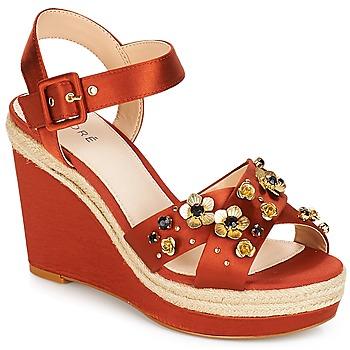 Schoenen Dames Sandalen / Open schoenen André IXIA Ocre