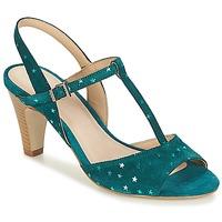 Schoenen Dames Sandalen / Open schoenen André BETY Turquoise