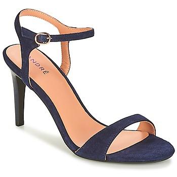 Schoenen Dames Sandalen / Open schoenen André SAXO Marine