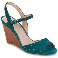 Schoenen Dames Sandalen / Open schoenen André BECKY Turquoise