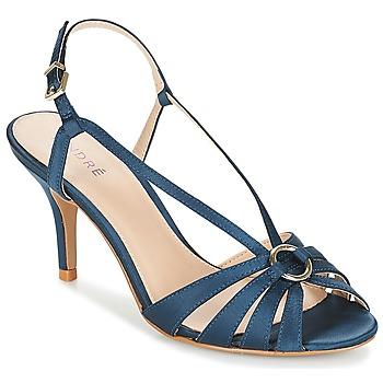 Schoenen Dames Sandalen / Open schoenen André MIRABELLE Blauw