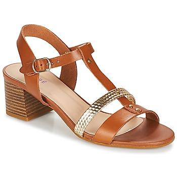Schoenen Dames Sandalen / Open schoenen André ANTIGUA  camel