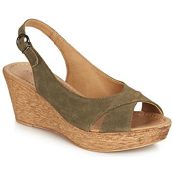 Schoenen Dames Sandalen / Open schoenen André DESTINY Kaki