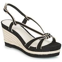 Schoenen Dames Sandalen / Open schoenen André TEMPO Zwart