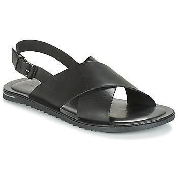 Schoenen Heren Sandalen / Open schoenen André SILVIO Zwart