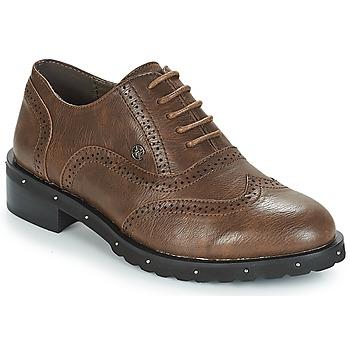 Schoenen Dames Derby Chattawak AMELIA Brown