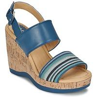 Schoenen Dames Sandalen / Open schoenen Hush puppies GRACE LUCCA Blauw
