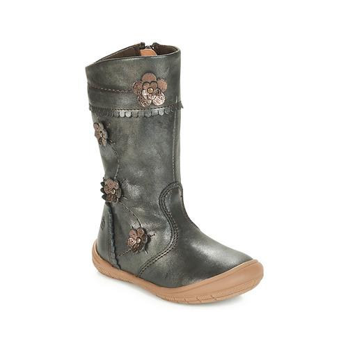 Schoenen Meisjes Hoge laarzen Citrouille et Compagnie JAMATIS Brons