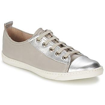 Schoenen Meisjes Lage sneakers Shwik SLIM LO CUT Zilver