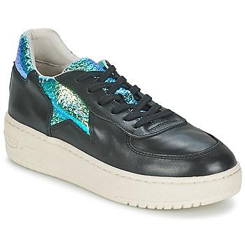 Schoenen Dames Lage sneakers Ash FOOL Zwart / Groen
